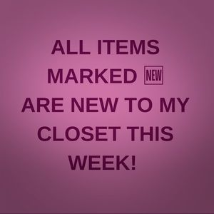 "🆕 items daily! Sort by ""Just In"" to check it out."